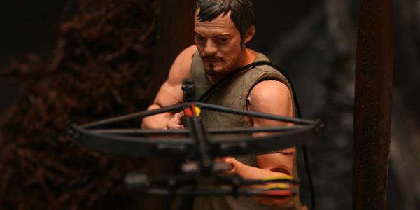 The Walking Dead McFarlane Toys Kastor's Korner