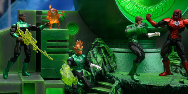 New Green Lanterns from DC Collectibles