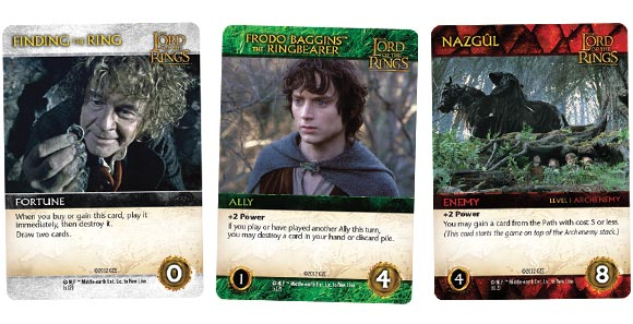 LOTR-deck-building-game-cards
