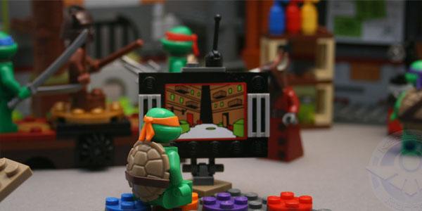 Lego TMNT Lair Kastors Korner0
