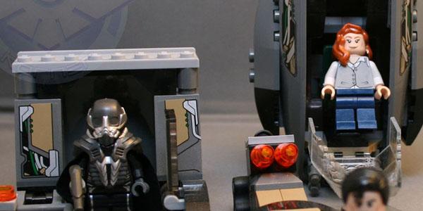 Lego Black Zero Kastor's Korner