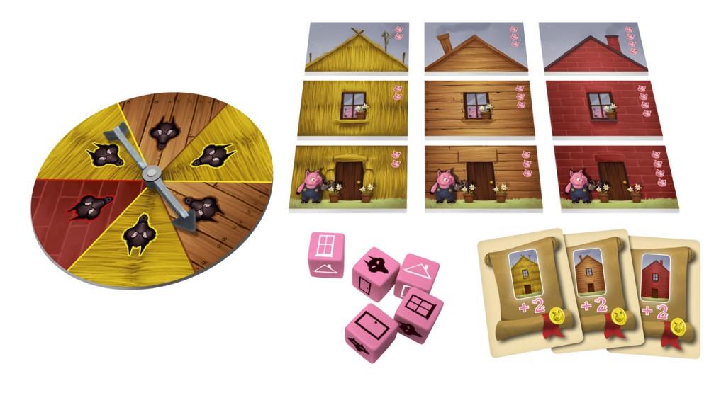 The 3 Little Pigs - Packshot