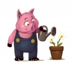 The 3 Little Pigs - Pig
