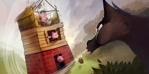 Three Little Pigs Review