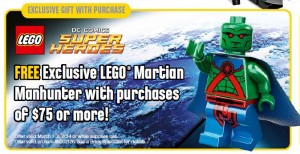Martian Manhunter Lego