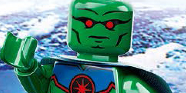 Martian Manhunter Lego feat