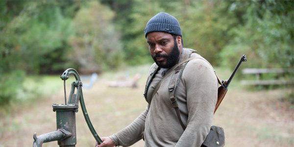 Tyreese (Chad Coleman) in The Walking Dead _ Season 4, Episode 14 The Grove