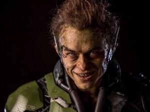 Dane Dehann as the Green Goblin in the Amazing Spider-man 2