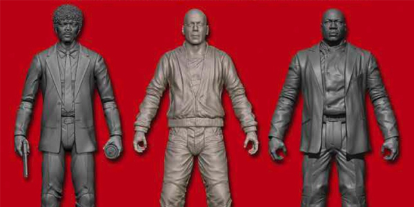 Pulp Fiction figures from Diamond Select