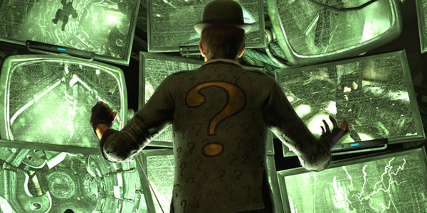 Arkham City riddler
