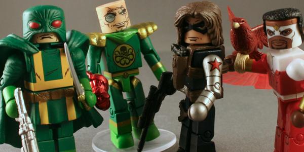 Captain America Comic Minimates Kastor's Korner