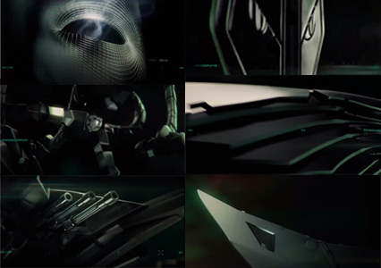 Images from the Amazing Spider-man credits of the possible sinister six line up