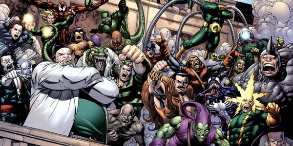 Spider-man villains narrowed down for the sinister six