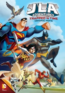 This week the animated Target Exclusive, Justice League of America: Trapped in Time, is getting a wider release.