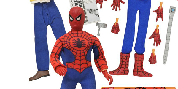 Spider-man goes Retro with Diamond Select Toys