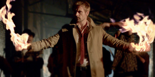In the newest footage from NBC's new Fall show Constantine, there is a big hint to fans of the DC world tat the show takes place in the larger DC universe.
