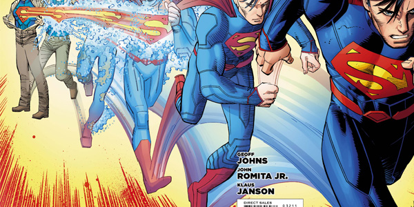 Classic Marvel Artist, John Romita Jr., joins the DC universe in Superman #32, kicking off a story line which brings the last son of Earth to Metropolis.