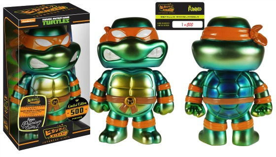 Funko-Hikari-TMNT-Michelangelo-Metallic-Figure