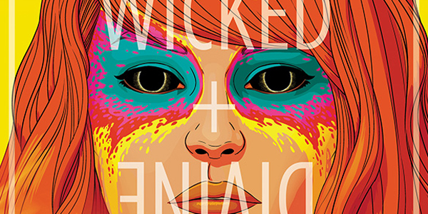 cover for the wicked the divine #2