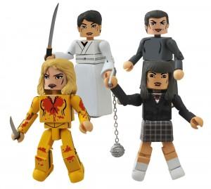 Kill Bill 10th Ann. Minimates House of Blue Leaves Box Set