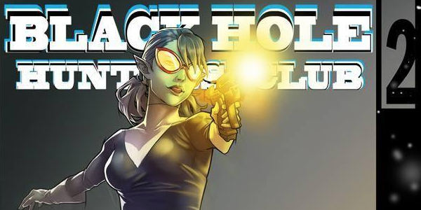 cover for Black Hole Hunters Club #2