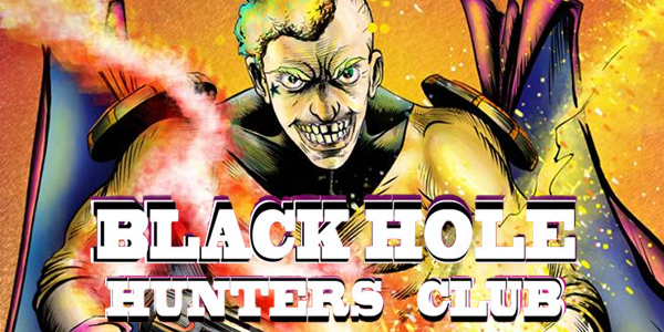 cover for Black Hole Hunters Club #1