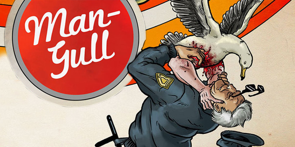Cover for Man-Gull #2