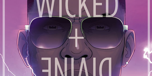 Cover for the wicked the divine #4