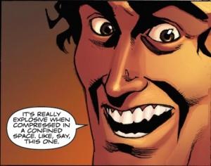 Bruce face