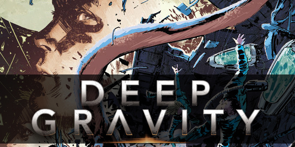 cover for Deep Gravity #3