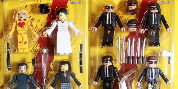 kill bill minimates feat
