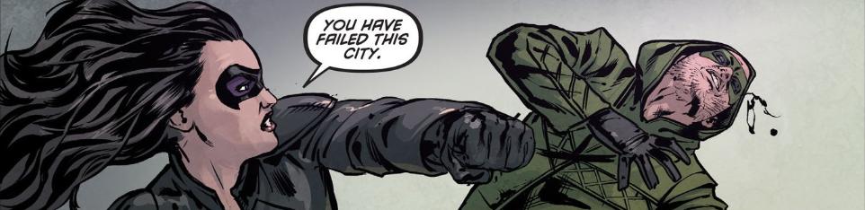 Arrow Season 2.5 #7 You have failed