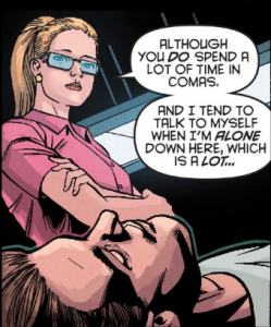 Arrow Season 2.5 #8 Felicity talking