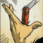 Rot & Ruin #4 knife catch.