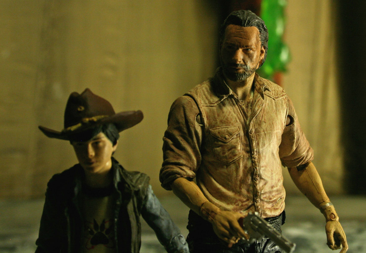 The Walking Dead McFarlane Kastor's Korner 06