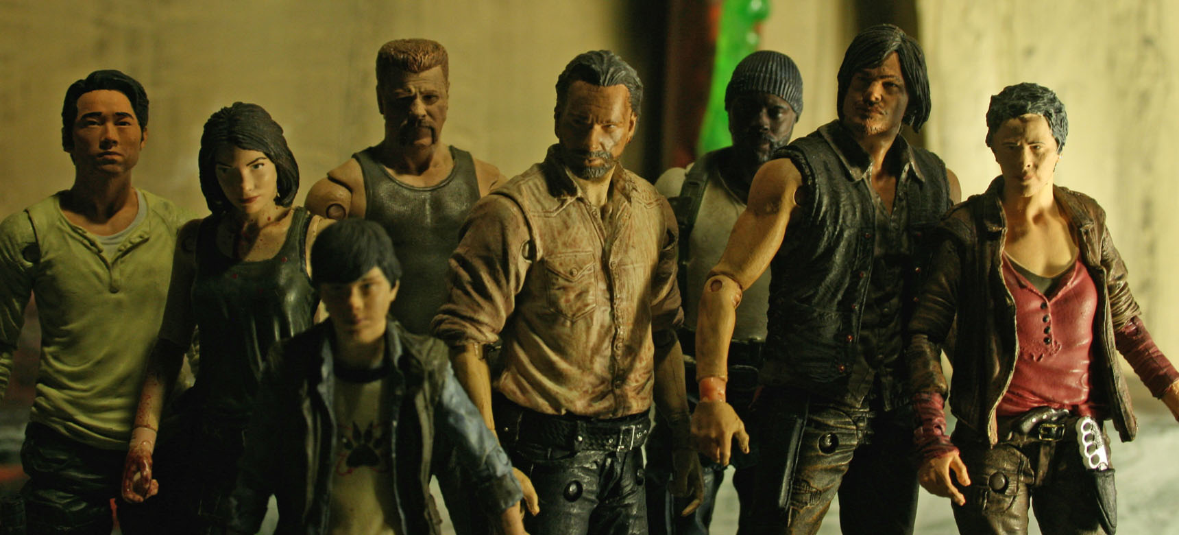 The Walking Dead McFarlane Kastor's Korner 16