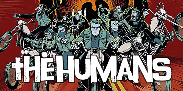 cover for the Humans #1