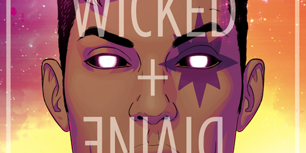 cover for the Wicked + the divine #6