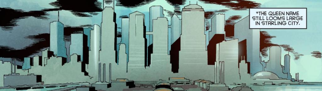Arrow Season 2.5 #10 QUEEN