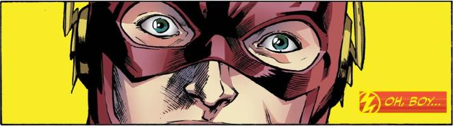 The Flash Season Zero 9 Oh boy