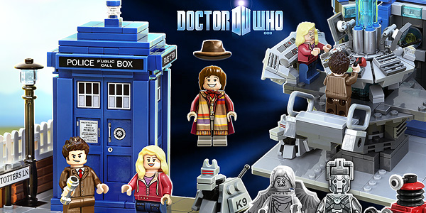 Dr Who LEGO