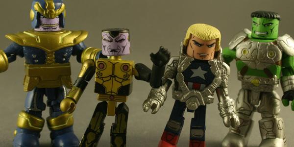 Minimates Marvel Infinity Kastor's Korner