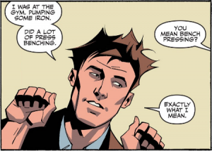 The Flash Season Zero #11 Press Benching