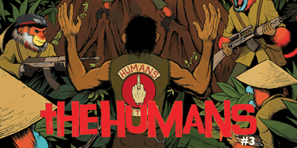the humans #3 cover