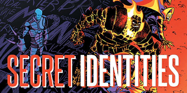 cover for Secret Identities #1