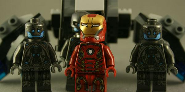 LEGO Ultron Drones Kastor's Korner