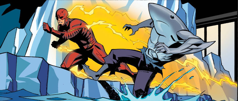 The Flash Season Zero #13 pushed in the pool