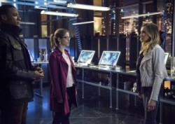 Diggle, Felicity, and Laurel