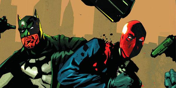 Batman Under red Hood