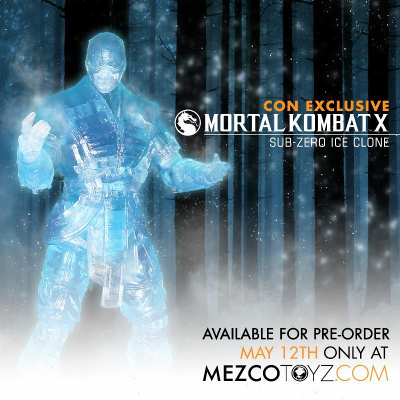 MKX Sub Zero Ice Clone